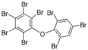 Chemical Structure for 2,2',3,4,4',5,6,6'-Octabromodiphenyl Ether(BDE-204) Solution