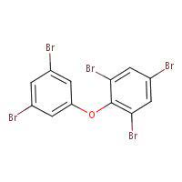 Chemical Structure for 2,3',4,5',6-Pentabromodiphenyl ether (BDE-121) Solution