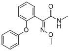 Chemical Structure for (Z)-Metominostrobin Solution