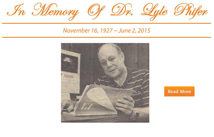 In Memorium Dr Lyle