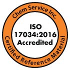 Chem Service ISO Accredited Guide 34